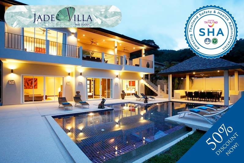 jade villa SHA approved luxury accommodation nai harn phuket